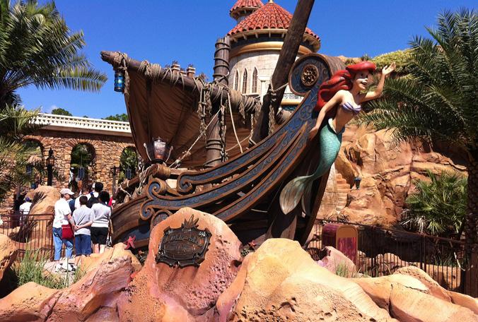 Magic kingdom fantasyland expansion pictures