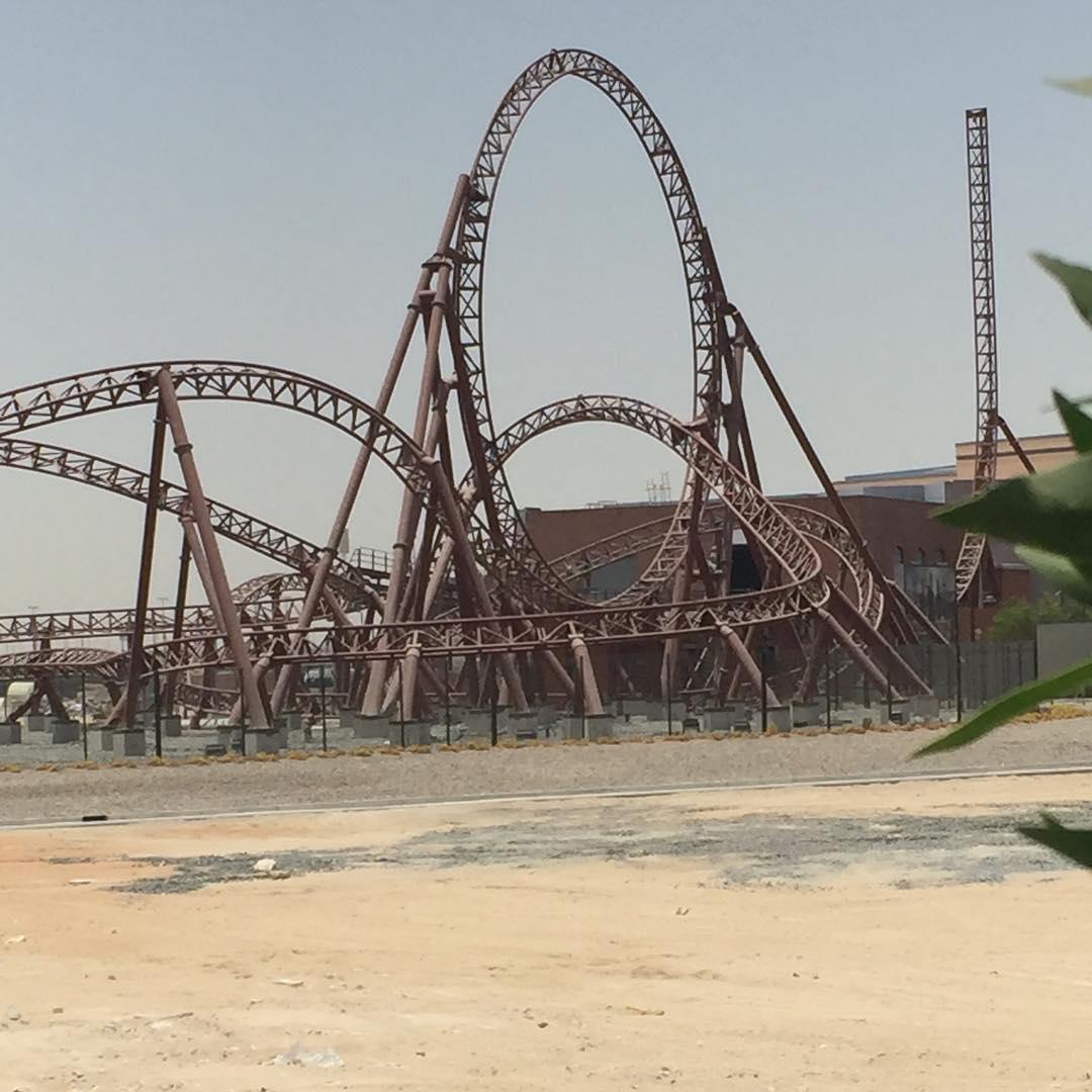 Dubai Parks and Resorts construction updates