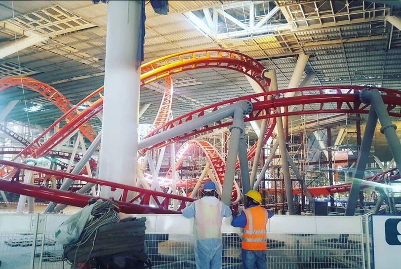 Doha Oasis (Wonder Dome) construction updates