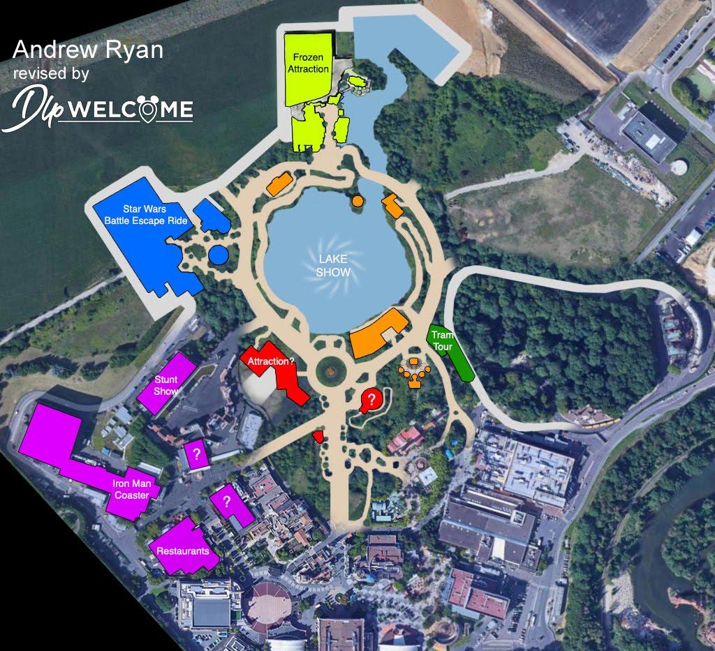 Disneyland Paris Expansion Construction Updates