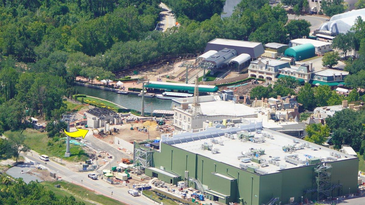 Epcot Expansion Construction Updates