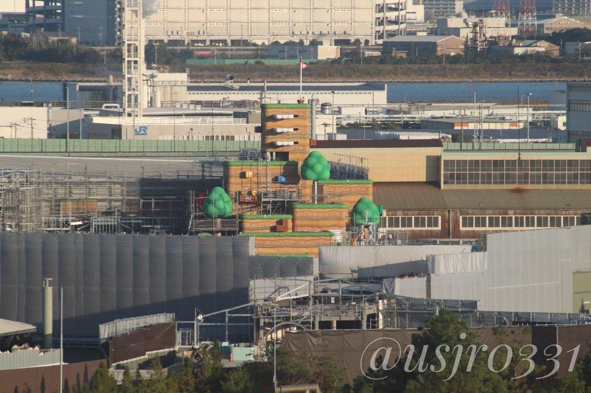 Universal Studios Japan Expansion Construction Updates