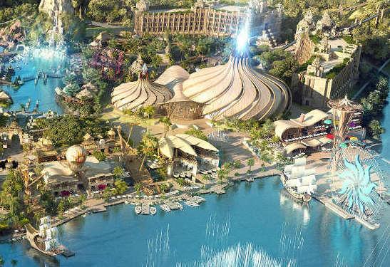 Vidanta World (Cirque du Soleil Theme Park) construction updates