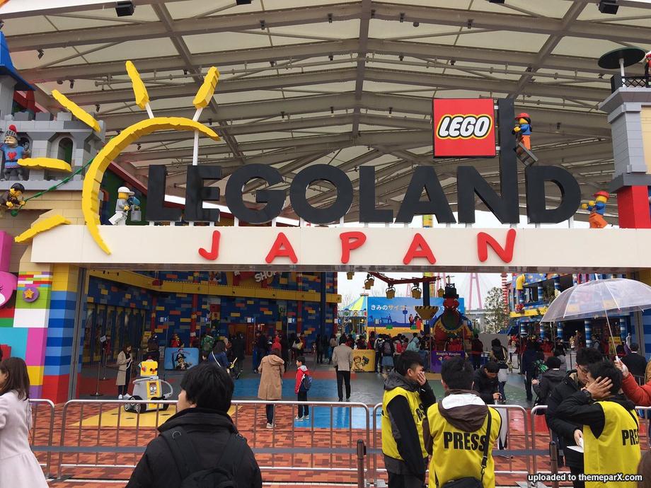 Legoland Japan construction updates