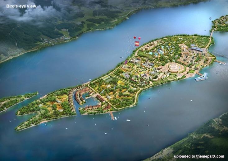 Legoland Korea construction updates