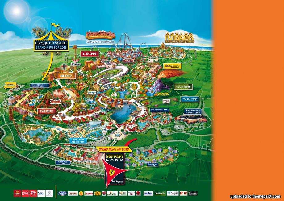 Portaventura expansion construction updates - Port aventura plan ...