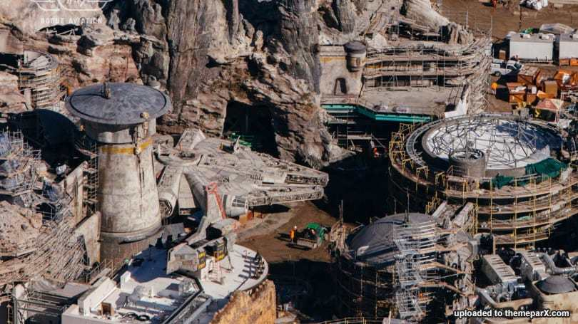 Star Wars Land Disneyland Construction Updates