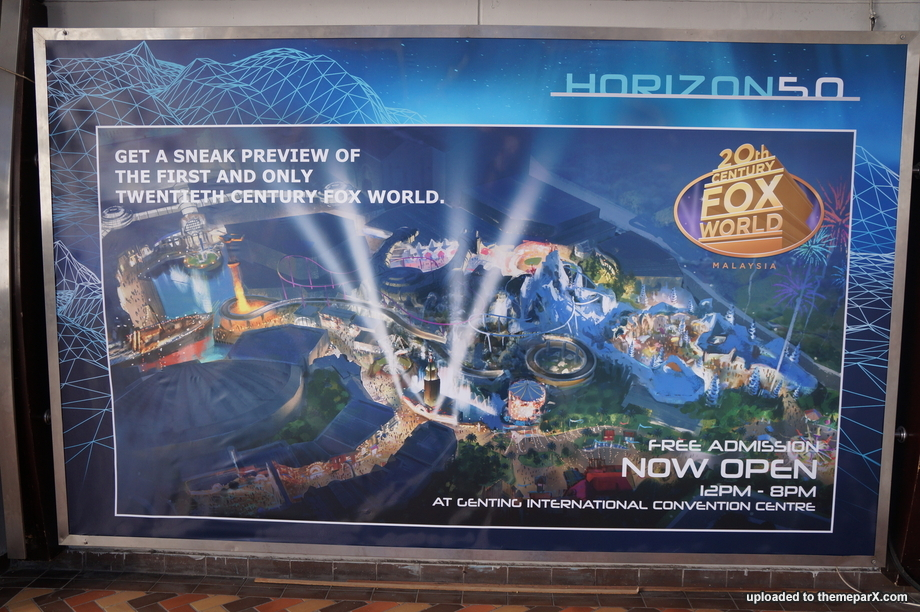 Resorts World Genting currently runs a small Fox World preview ...